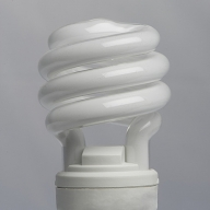 Close-up of an Energy Efficient Lightbulb