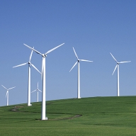Image of Electricity-Generating Windmils